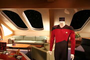 Enterprise-D crew quarters