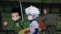 Gon meets killua 1