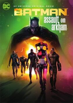 Batman Assault on Arkham cover