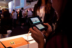 Nintendo 3DS Target Shooting demo at E3 2010