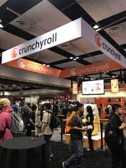 Crunchyroll Store at Crunchyroll Expo 2017