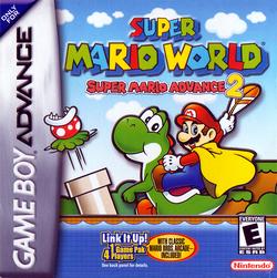 Box NA - Super Mario World Super Mario Advance 2