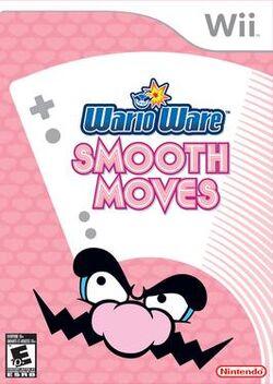 WarioWare Smooth Moves NA Cover