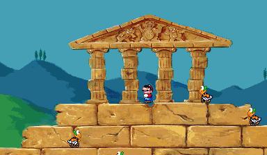 Super Mario's Wacky Worlds Greek 1
