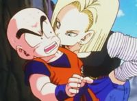 Krillin & android-18