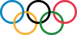 Olympic rings without rims