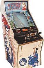 Fonz 1976 sega arcade