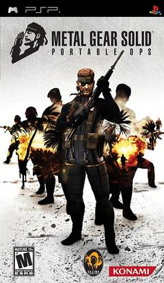 Metal Gear Solid Portable Ops cover