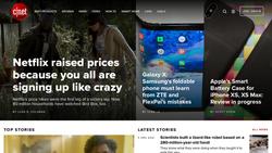 CNET screenshot