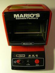 Mario's Cement Factory (Tabletop) - Game&Watch - Nintendo