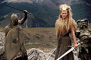 White witch in battle for naria