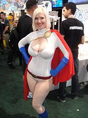 San Diego Comic-Con 2011 - Power Girl