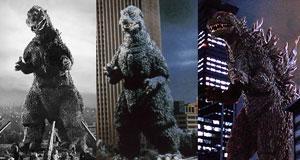 Godzilla collage