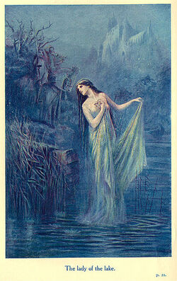 The Lady of the Lake by Speed Lancelot