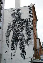 Metal Gear Rising promotion art