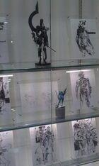Metal Gear Solid Rising Art Exhibit