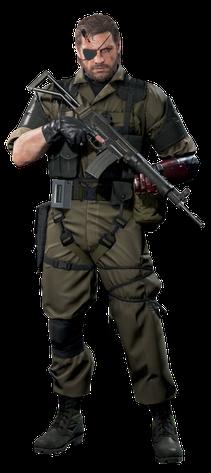Venom Snake (CGI render)
