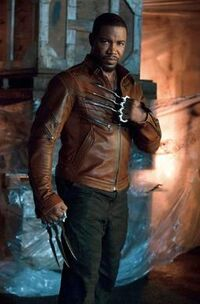 """Michael Jai White as Bronze Tiger in the CW's """"Arrow"""""""