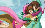 Cardcaptor Sakura cleaned up copy of the Sealed Card Anime ending scene - bonus art exclusive