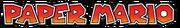Paper Mario series logo
