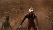 Ultraman Tiga ready to uses Zepellion