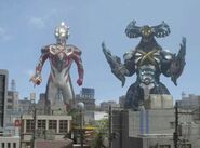 Ultraman X-Cyber Gomora Screenshot 008