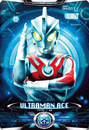 Ultraman X Ultraman Ace Card bigger