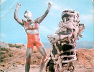 Ultraman vs Seabozu