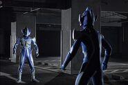 Ultraman Hikari vs Imitation Hikari