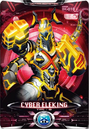 Ultraman X Cyber Eleking Card