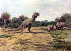 T. rex old posture