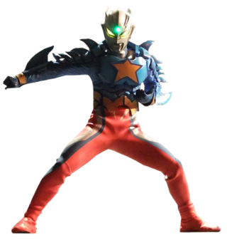 Ultraman Zero Super Form Render