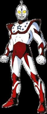 Ultraman Chuck rendered