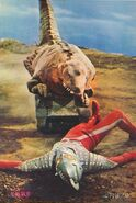 Seven vs Dinosaur Tank
