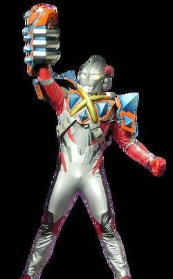 Ultraman X Skedon Armor Render