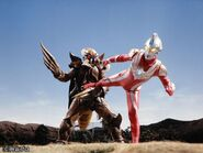 Ultraman Max vs Bugdalas