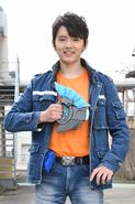 Riku Asakura in Ultraman Z