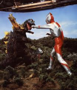 Jirass v Ultraman