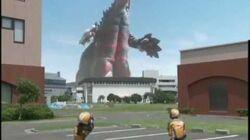 Ultraman Mebius vs Doragory