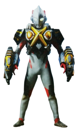Ultraman X Zetton Armor
