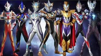 All Ultraman Fusions