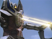 Guinje Robot Mode Machine Guns