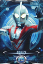 Ultraman X Zoffy Card