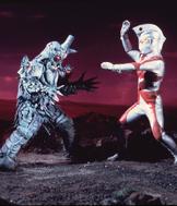 Mazaron Man v Ultraman Ace
