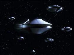 Mysterious Saucer fleets