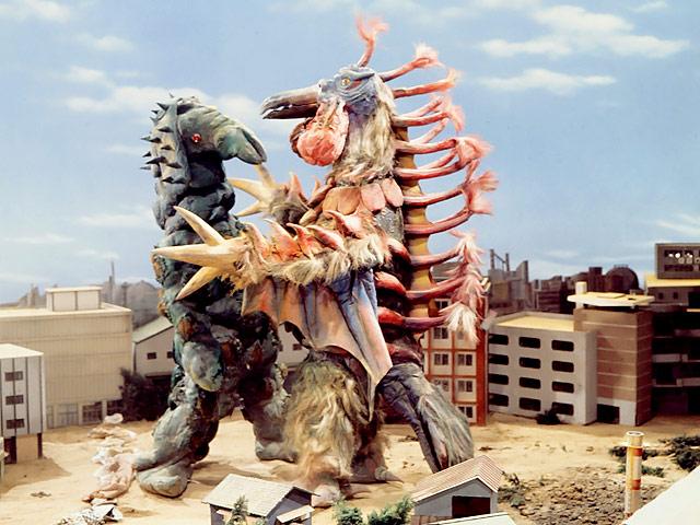 Two Big Monsters Close In On Taro Ultraman Wiki