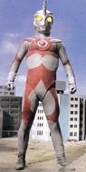 Ultraman Ace A in city