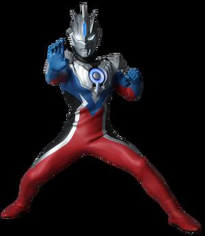 Ultraman orb emerium slugger suit render