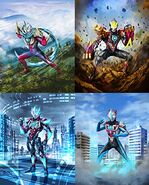 Ultraman Orb Fusion Forms
