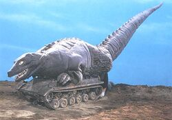 Tank Dinosaurus